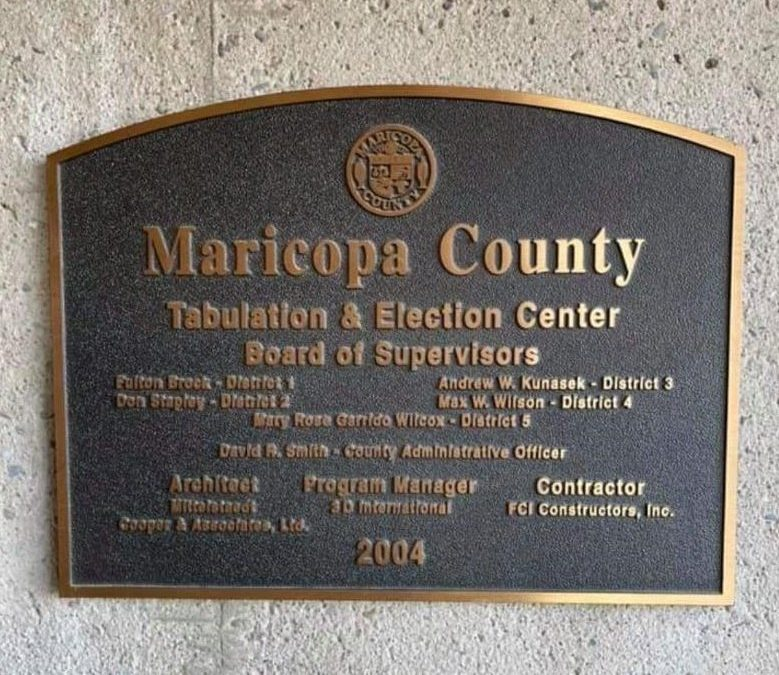 Arizona Sentate's Maricopa County audit is now scheduled to kick off April 22nd.