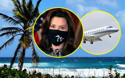 Gretchen Whitmer's Story Changes Again: Now Campaign Funds Paying for Florida Private Jet