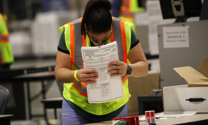 Pennsylvania Received 10,000 Mail Ballots After Polls Closed on Election Day