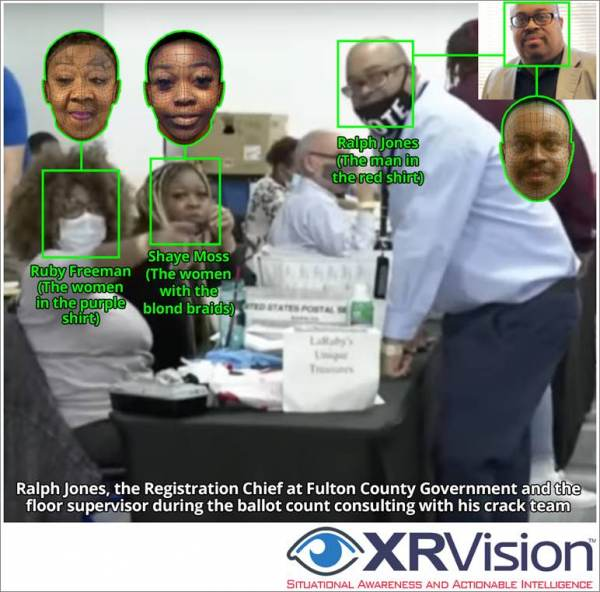EXPLOSIVE DEVELOPMENT: Election Worker Ralph Jones Is Now Second Worker Caught Double-Counting Ballots at the State Farm Center on Election Night!
