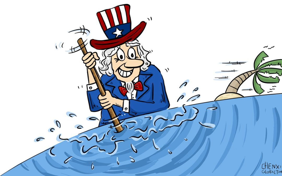 China won't accept US hegemonic acts in the South China Sea: Global Times editorial