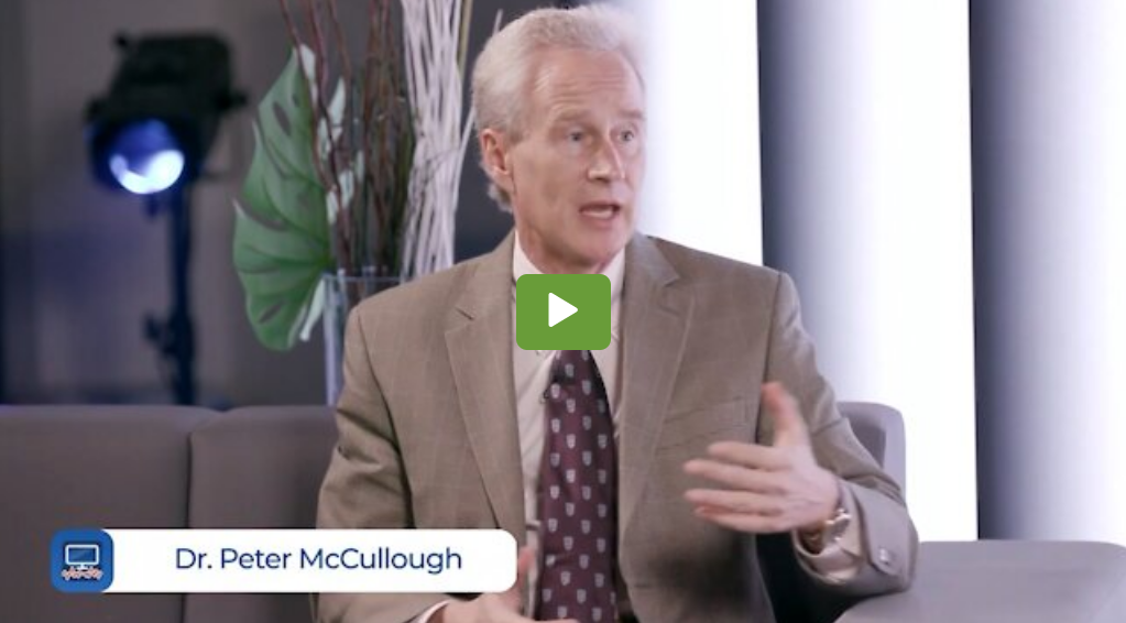 """Dr. Peter McCullough: """"The Vaccine Is Failing In The UK And Israel"""" – OffBeat Business TV"""