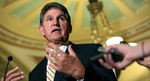 """Manchin Slams Dem Spending Plan As """"Definition Of Fiscal Insanity"""", Will Not """"Reengineer Social Fabric"""" With 'Vengeful' Taxation"""
